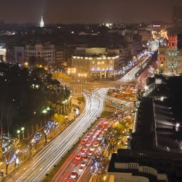 Night Flow, Plaza de Cibeles, Spain, 2012