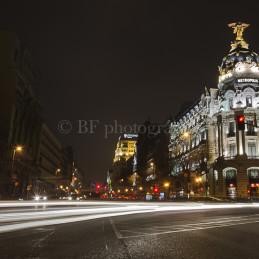 Metropolis Lights, Madrid, Spain, 2012