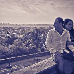Lovers in Pincio, Rome, 2013