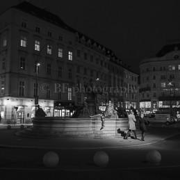 Night walking, Wien, 2013