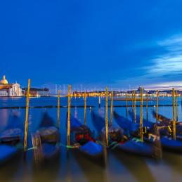 Dancing Gondolas, Venice, 2014
