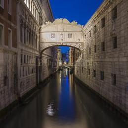Sospiri's bridge, Venice, 2014