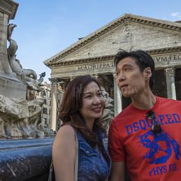We love Pantheon, Rome, 2014