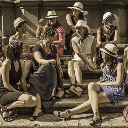 Women in Trastevere, Rome, 2014